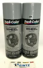 Duplicolor Hwp101 2 Pack High Performance Wheel Coating Silver Color 12 Oz