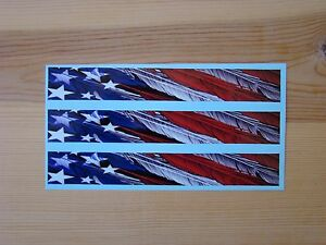 Carbon Arrow Wraps Custom 13 Pack 7 Inch Feathered American Flag