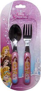Disney-Princesse-Enfant-Fourchette-et-Cuillere-Set-de-couverts-par-besttrend