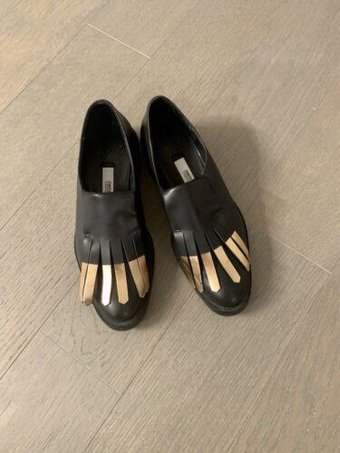 Miista Black And Copper Loafer