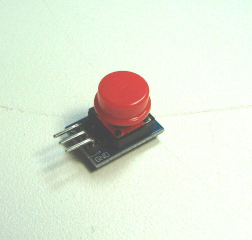 Arduino Push Button Red