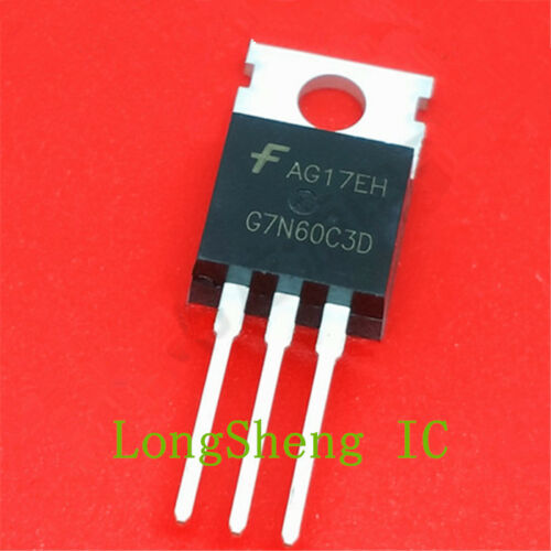 600V N-Channel IGBT Diodes TO-220 new 1PCS G7N60C3D HGTP7N60C3D 14A