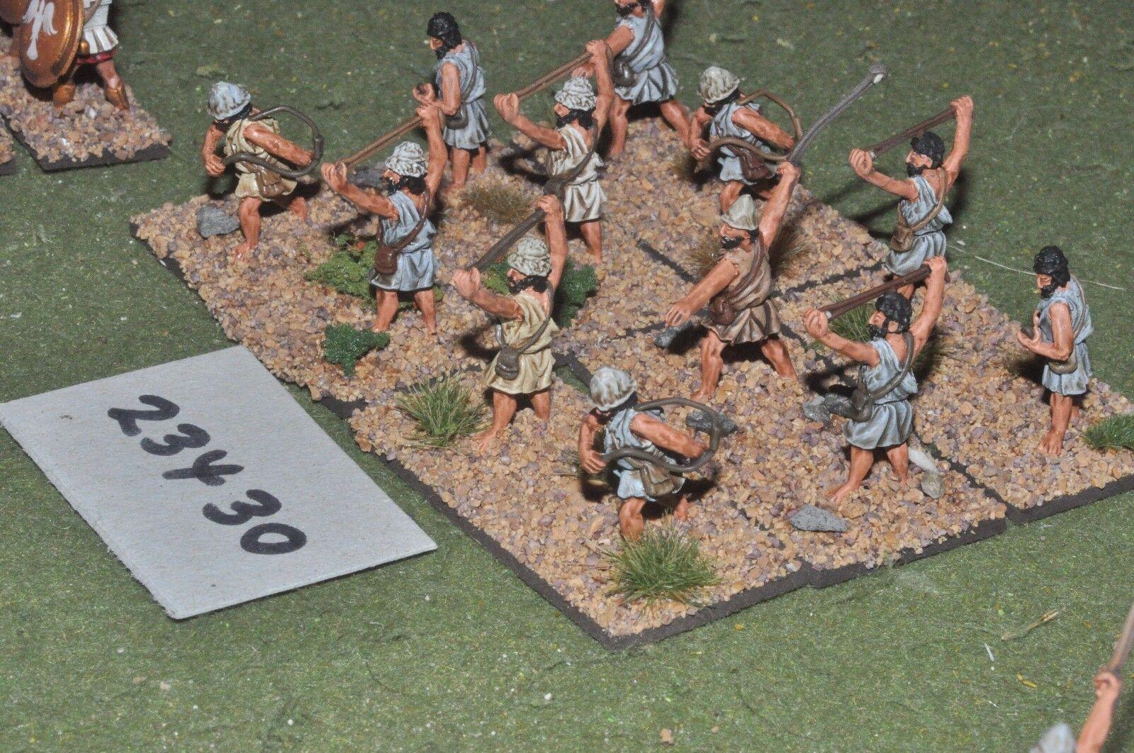 25 mm Classique grec-Light 12 figures plastique-INF (23430)