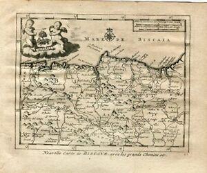 Nouvelle-Carte-Of-Biscaye-Avec-Les-Grands-Chemins-Engraving-By-Van-Der-Aa-Alv