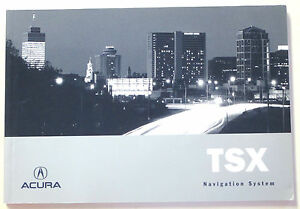 ACURA-2007-TSX-Navigation-Manual-31SEA800