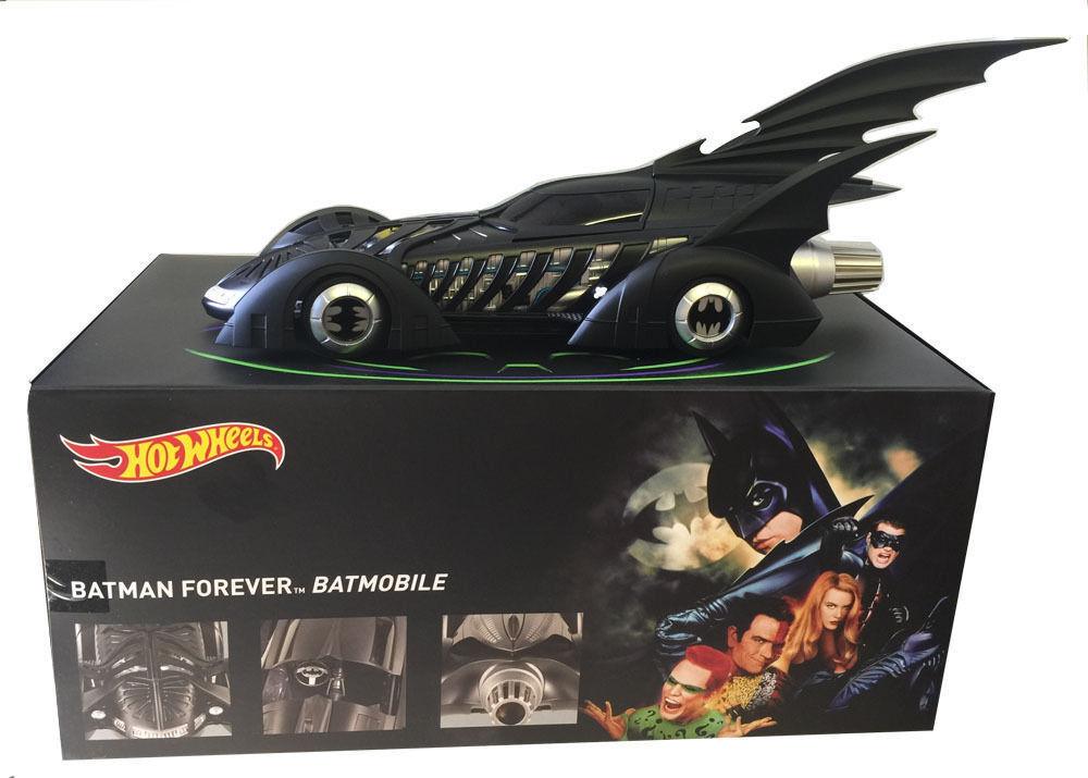 18 hotwheels batmobil 1995 batman forever batmobil bly43 erbe
