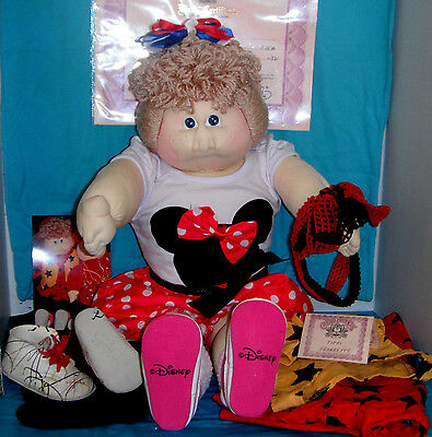 1986 CPK Cabbage Patch Xavier Roberts Amethyst TIFFI GEORGETTE w/Papers & Outfit