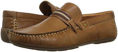 b37853e7a13 Steve Madden Gander Loafer Dark Tan Leather Slip On Mens Shoes NIB $85  Choose Sz