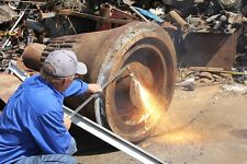 36 Scrap Cutting Torch 135 Degree Head Ultralife Tips Gasoline Tank Hoses Reg