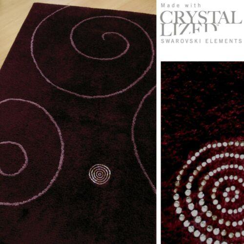 "Basic Bath Mat Bath Mats Series Crystal Wave Bordeaux /""NEW SALE"
