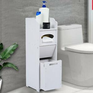 Bathroom Slim Floor Cabinet Narrow, Bathroom Toilet Slim Floor Cabinet Narrow Storage Cupboard With Drawers
