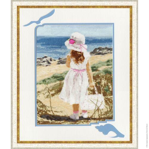 BEACH Counted Cross Stitch Kit GOLDEN FLEECE
