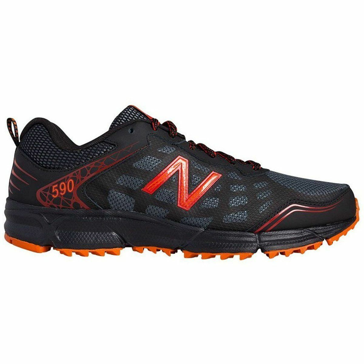 New Balance MT590BB1 Running  men's shoes Black orange NWB