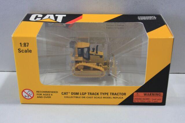 55108 NORSCOT DM CAT D5M LGP TRACK TYPE TRACTOR BULLDOZER 1:87//HO SCALE MODEL