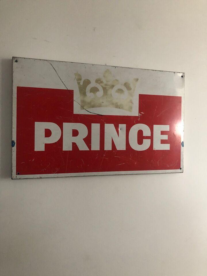 Skilte, Prince metal skilt