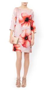Pure Tunic Rrp Silk 99 Lettie Poppy Nude Monsoon £ 18 Stunning Bnwt Dress wnaqHUFI