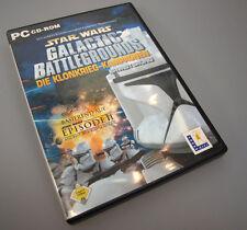 Star Wars: Galactic Battlegrounds - Die Klonkrieg-Kampagnen Addon DEUTSCH