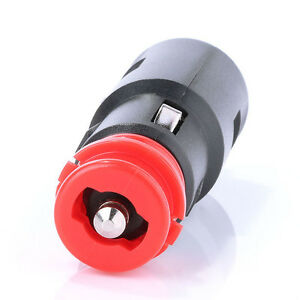 1PC-12v-Car-Cigarette-Lighter-Socket-Plug-Power-Connection-Male-Adapter-Plug