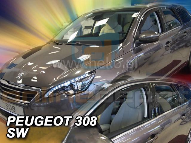 Kombi 5-türer 4tlg Gummifußmatten für Peugeot 308 SW 2 2013