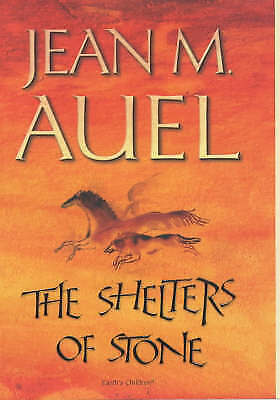"""1 of 1 - """"VERY GOOD"""" The Shelters of Stone (Earth's Children), Auel, Jean M., Book"""