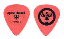 The Panic Channel Dave Navarro Orange Guitar Pick  - 2006 Tour