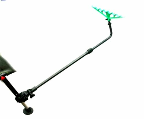 Fishing Extending Angled Chair Seat Box Long Arm For Pole Rod Feeder /& Rest 137