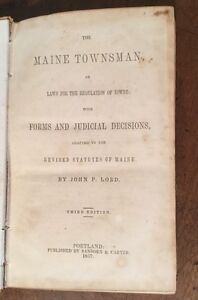 1847-The-Maine-Townsman-John-P-Lord-Portland