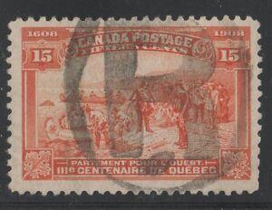 MOTON114-102-Tercentenary-15c-Canada-used-well-centered