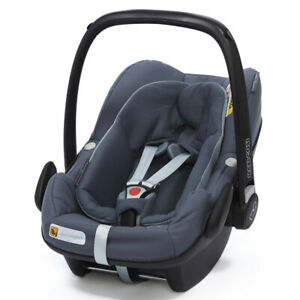 Brand New Maxi-Cosi Pebble Plus baby car seat Grp0+ Graphite RRP£190