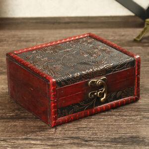 Wooden-Grape-Leaf-Jewelry-Box-Home-Decor-Treasure-Chest-Tarot-Cards