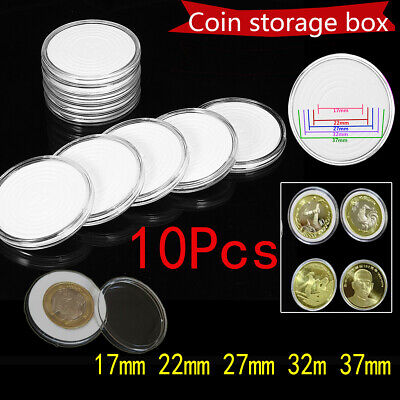 20 Container Box Coin silver US Dollar case Holder Display