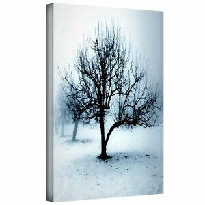 Dean-Uhlinger-039-Winter-Orchard-Gallery-Wrapped-Canvas-Artwork-18-034-by-24-034