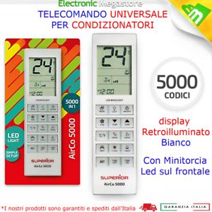 TELECOMANDO UNIVERSALE PER MITSUBISHI CLIMATIZZATORE CONDIZIONATORE D/'ARIA