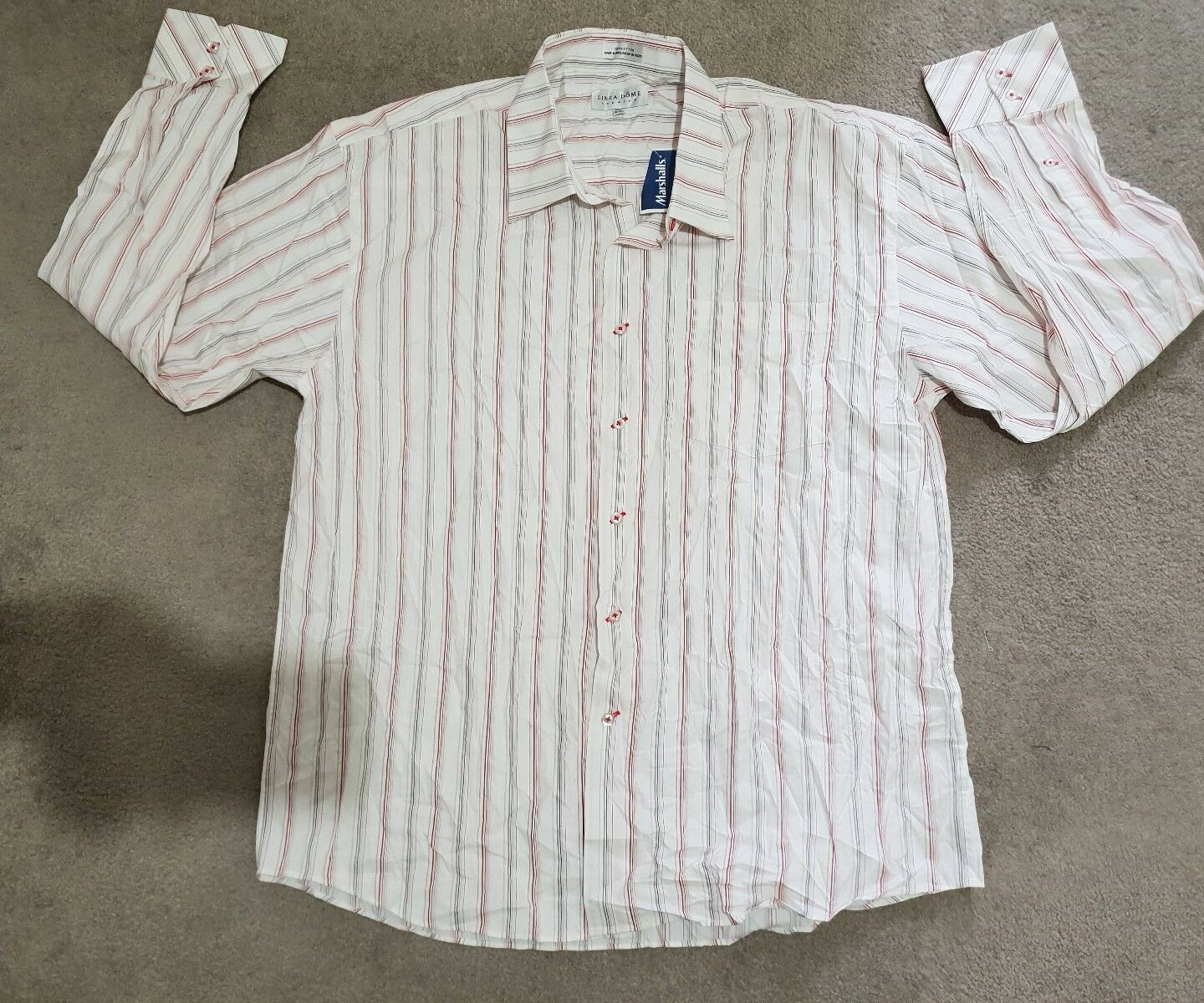LINEA DOME MEN'S SHIRT SIZE XXL, NEW WITH STORE TAG.