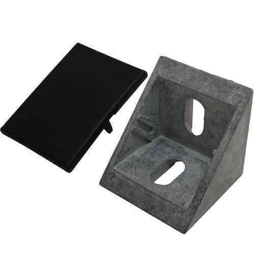 Set angle et cache 40 40x40x40 plat m8 Nut 8 z Blank