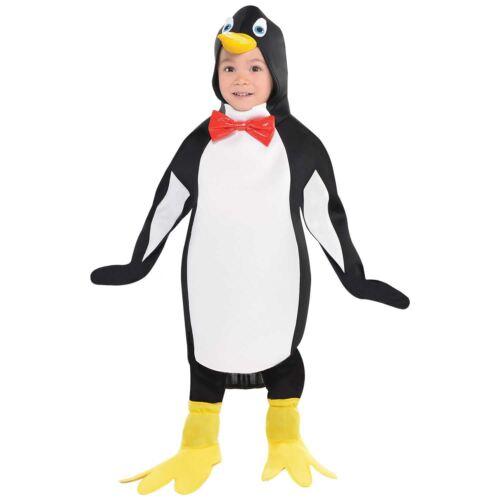 Kids Boys Girls Penguin Animal Bird Childrens Fancy Dress Up Costume