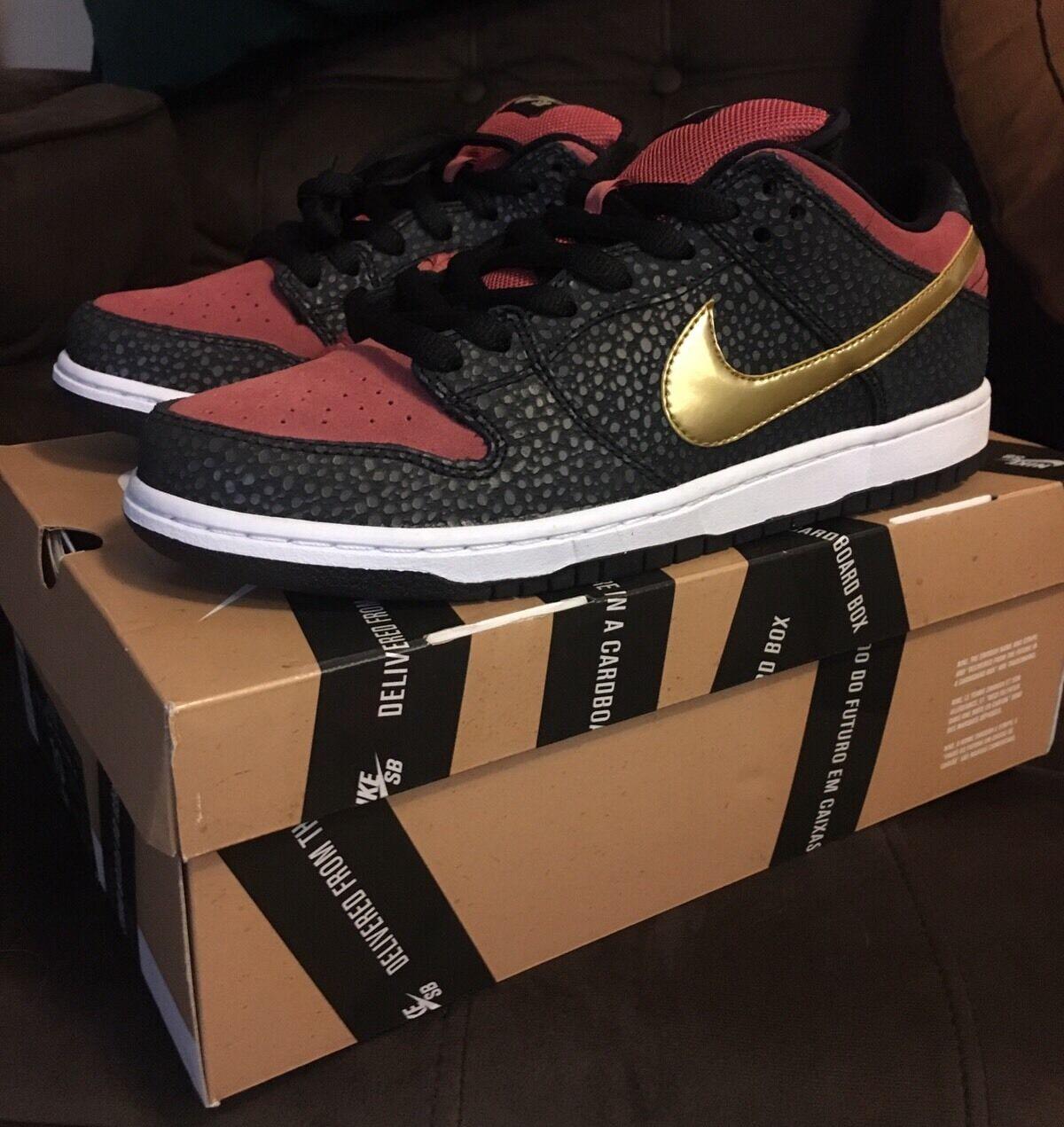 Nike Dunk Low Premium SB BROOKLYN PROJECTS BP WALK OF FAME Quickstrike 10 Safari