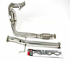 OBX Racing Exhaust Header Downpipe FITS 2000 01 02 03 2004 Eclipse GS RS 2.4L I4