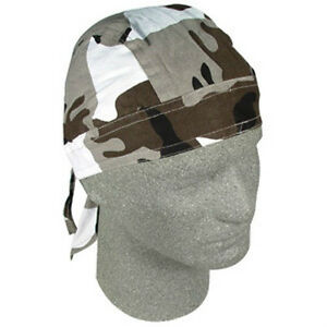 New ZANHeadgear®  Urban Camouflage 100/% Cotton FLYDANNA® Bandanna Doo Rag