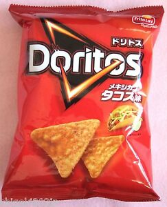 Doritos-Mexican-Tacos-Rich-Taste-Tortilla-Chips-Japanese-Snack-Sweets-Food-JAPAN