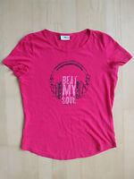 Schönes Damen T-Shirt von Tom Tailor, Gr.S, pink