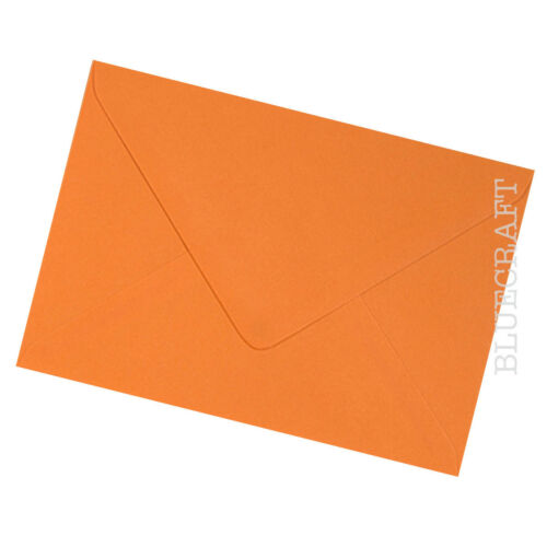 "6 X 4/"" 100 X A6 C6 Español Naranja SOBRES PREMIUM 100gsm 114 X 162mm"