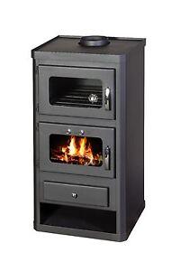 Stufa a legna forno cucinare camino log burner combustibile solido norma ft 10kw ebay - Stufa a legna per cucinare ...