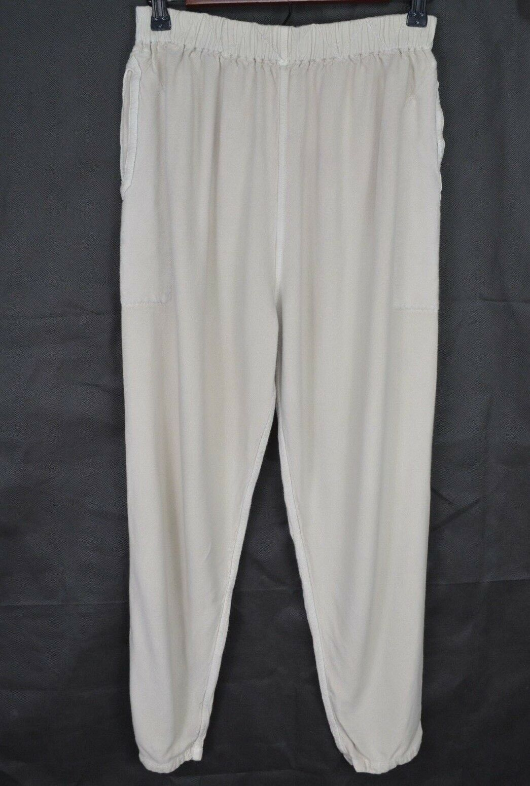 Dairi Fashion Mgoldcco Pants Size Small Pull On Stretch Elastic Cotton Lagenlook