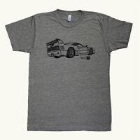 Ferrari F40 Lm Graphic Printed On Men's T-shirt