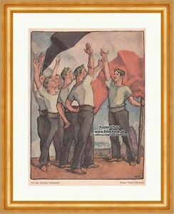Acheter Pas Cher Sur Le Leipziger Champ De Bataille Walther Püttner Drapeau Peuples Bataille De La Jeunesse 0109-afficher Le Titre D'origine