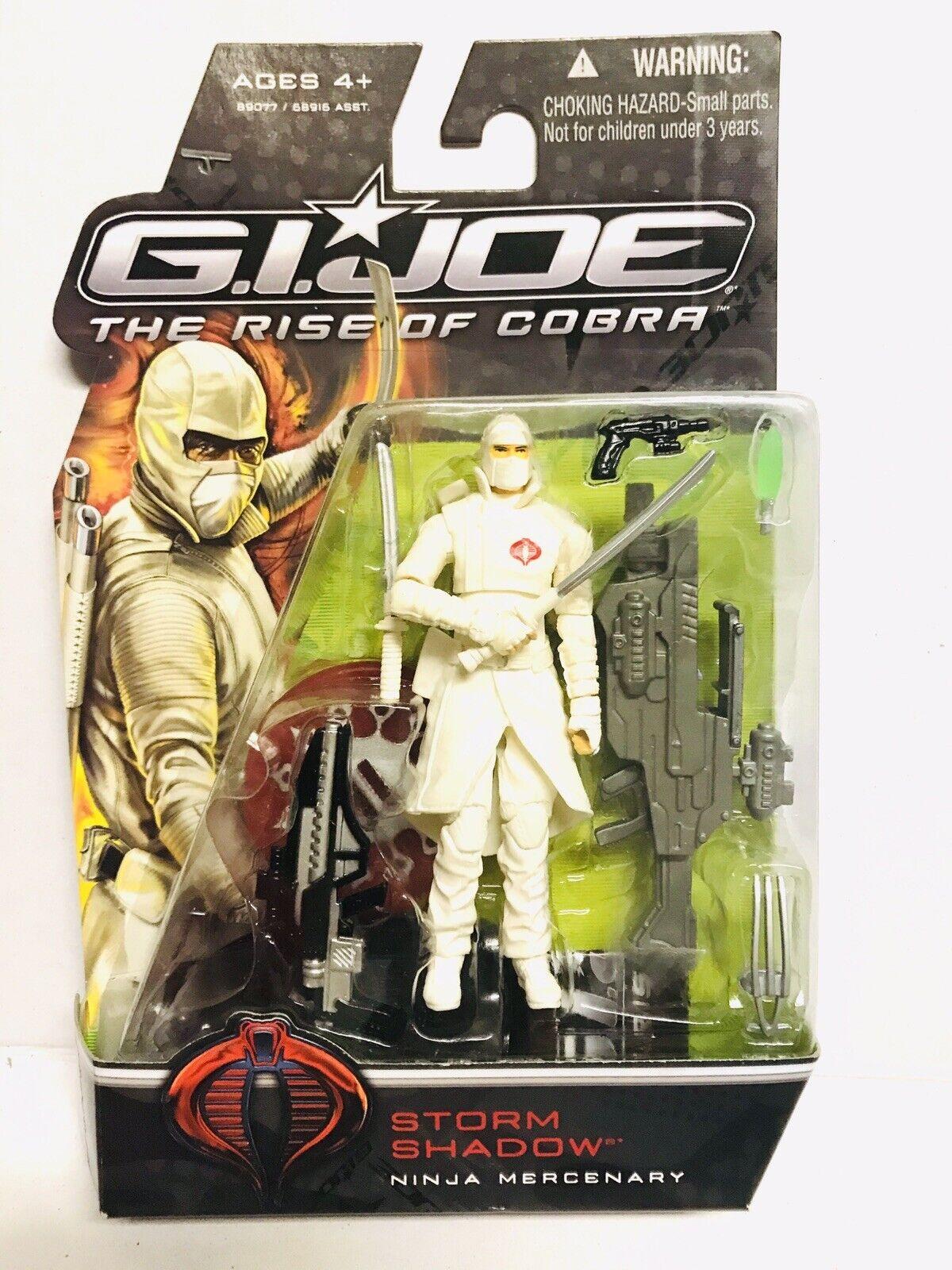 Gi Joe The Rise Of Cobra 2009 Storm Shadow Figure Hasbro Brand For Sale Online Ebay