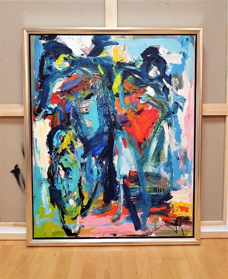 Akrylmaleri, Henrik Busk Andersen (f.1967), motiv: