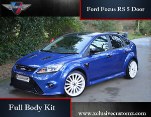 Image Is Loading Ford Focus Rs 5 Door Full Body Kit