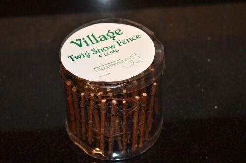 56 Village Twig Snow Fence 52598 Dept